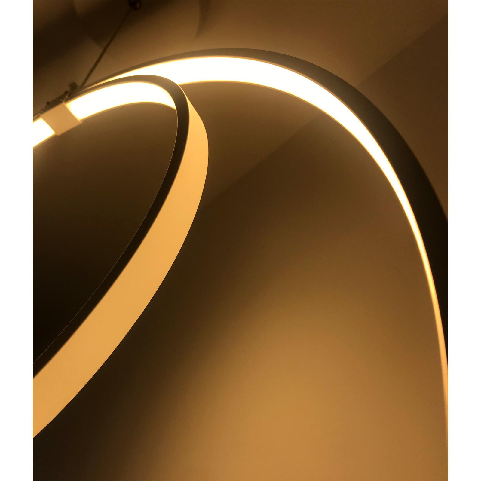 Lámpara aros
