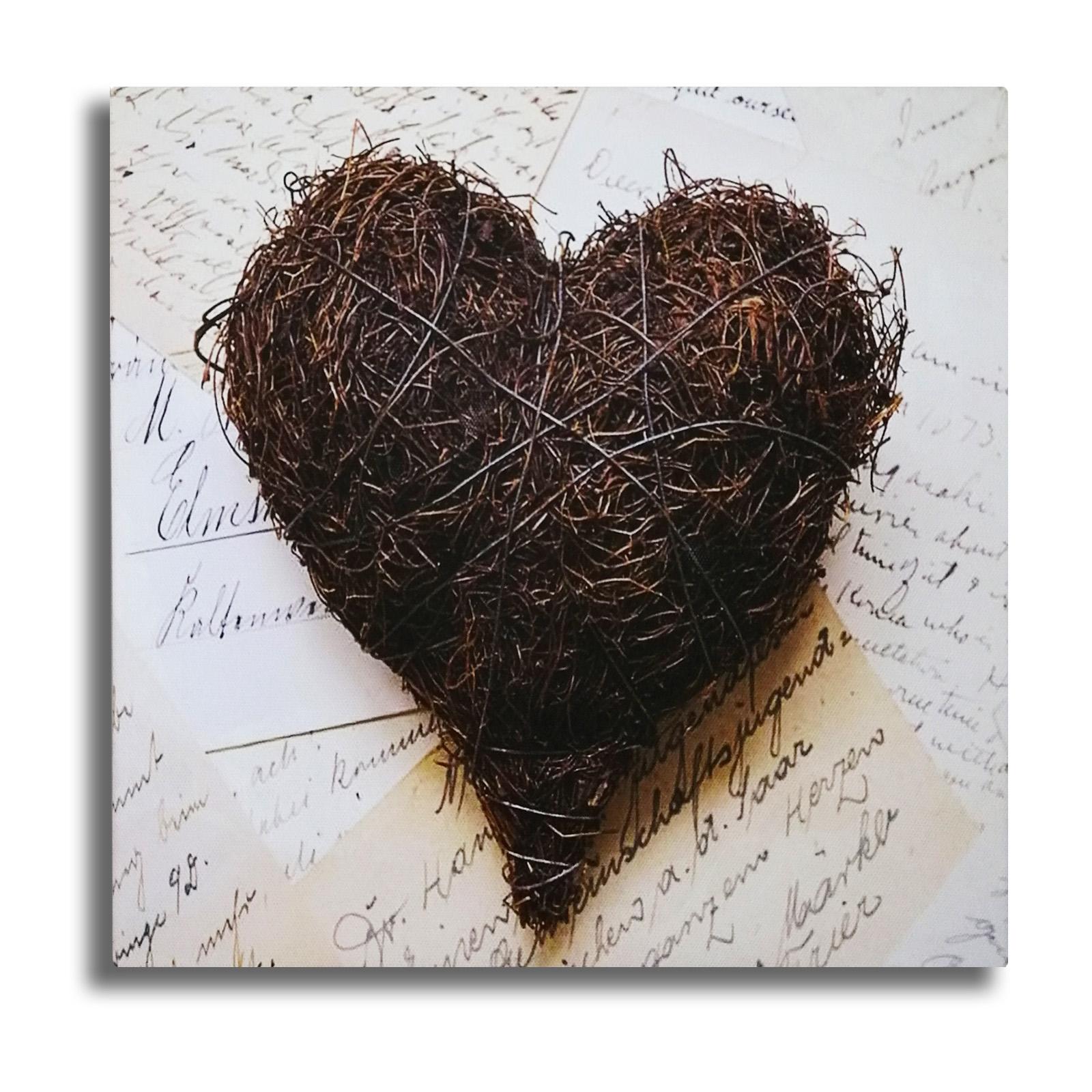 Cuadro coeur de paille