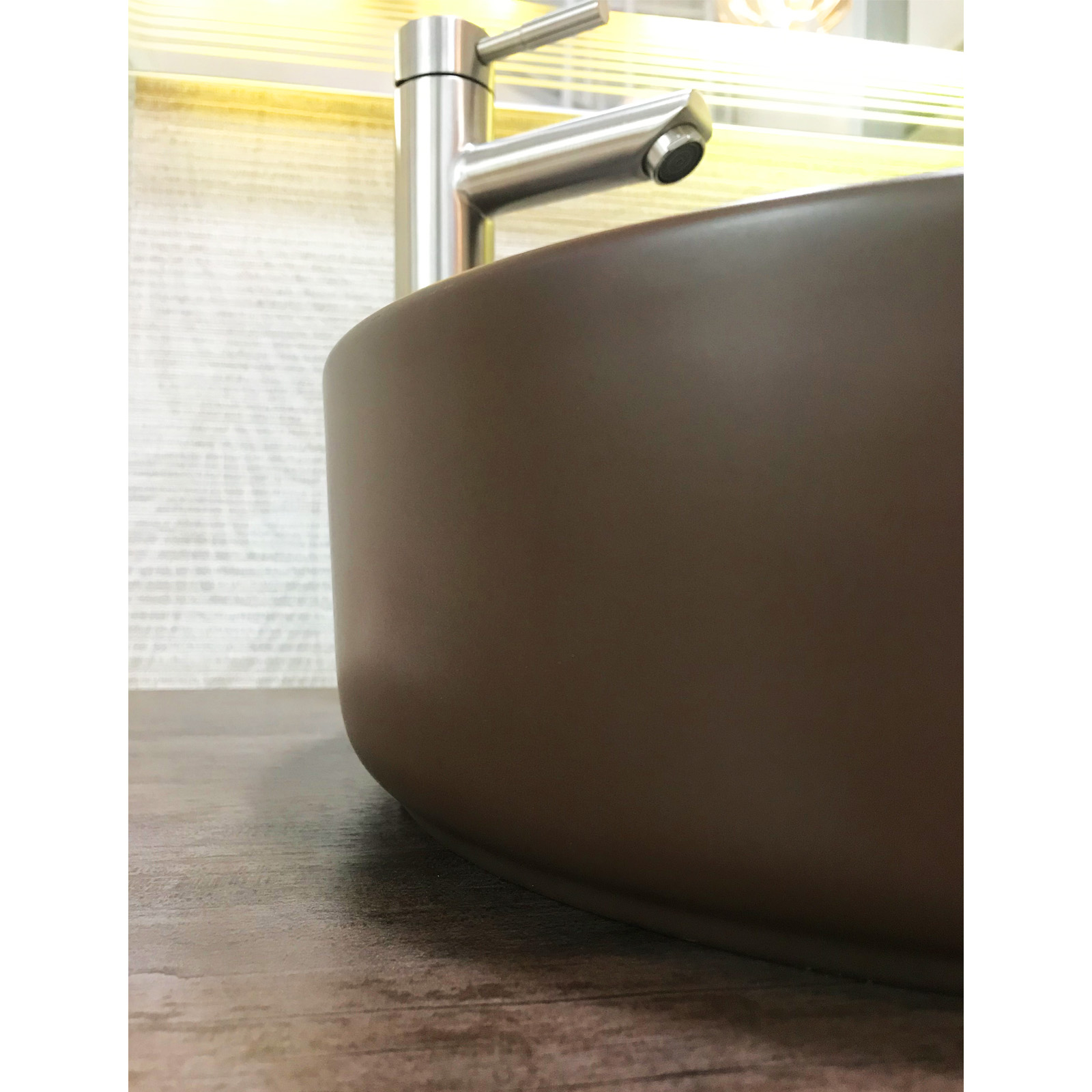 Lavabo dulce chocolate