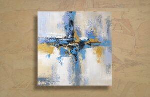 Cuadro abstracto - hecho a mano