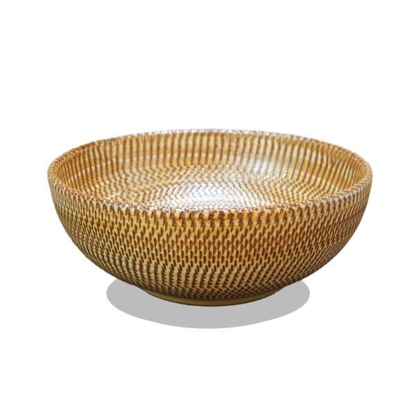 Lavabo de cerámica - canasto