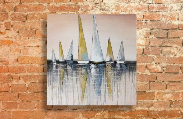 Cuadro de barcos
