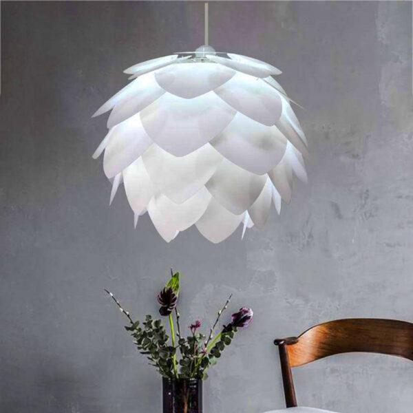 lámpara piña moderna