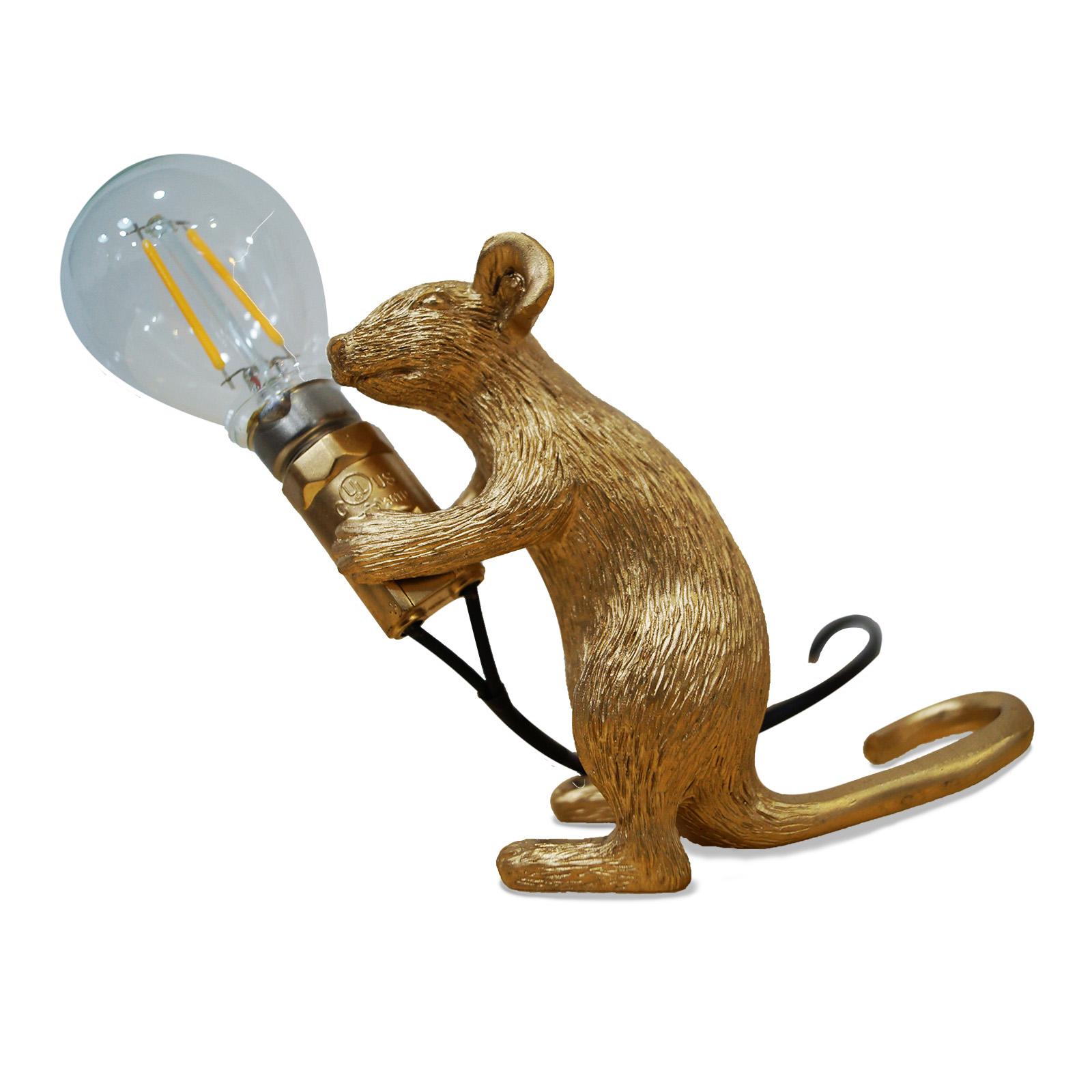 Lámpara de mesa - Le rat - color plata