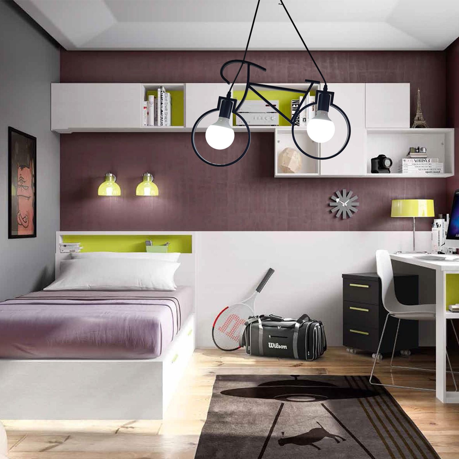 Lámpara Vélo - En una habitación juvenil