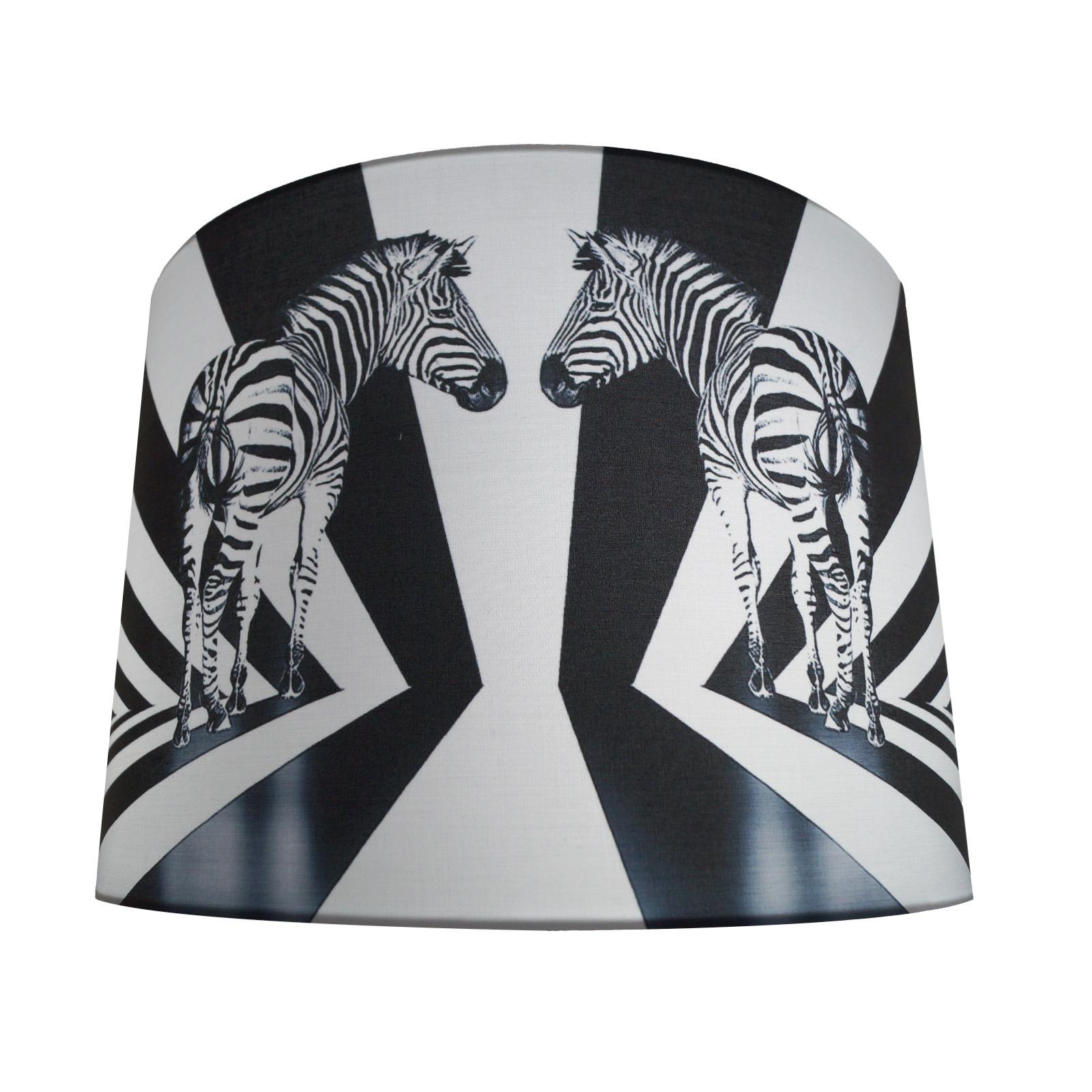 Lámpara estampado Zebra