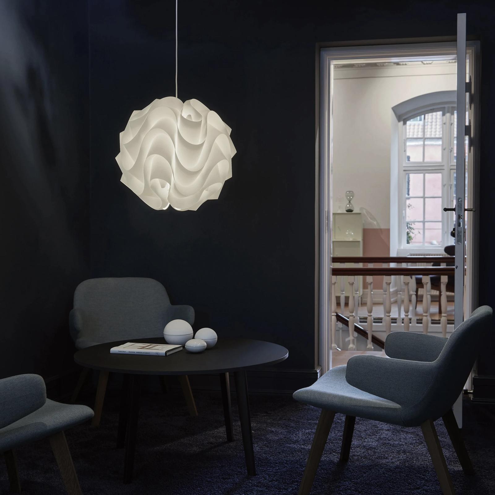 Lámpara ola - decoración sala de estar
